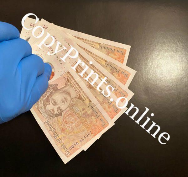 counterfeit £10